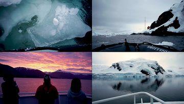 驶入南极的科考船