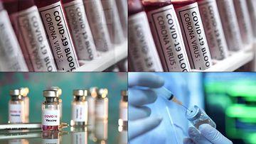 冠状病毒疫苗视频素材