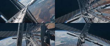 太空空间站视频素材