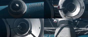 太空船对接成功视频素材