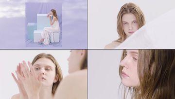 美妆使用外模视频素材