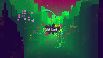 数字城市AE模板citycolor