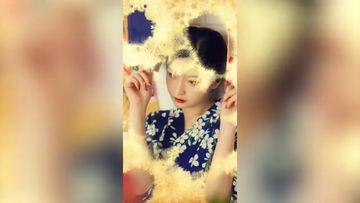 中国风墨滴幻灯片手机竖屏AE模板