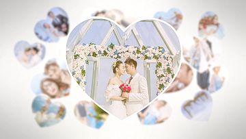 婚礼小片头PR模板