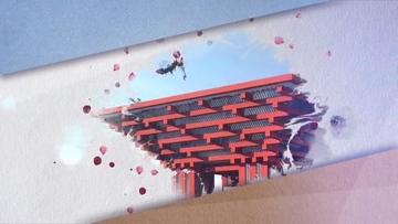 中国风水墨图文展示AE模板 folder