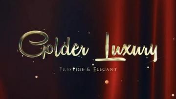 金色奢华红地毯标题AE模板