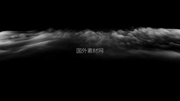 从地上冒起来的青烟VFX视频