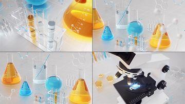唯美医疗医学3D动画片