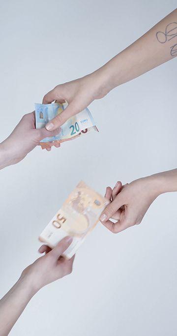 货币交易竖屏视频素材