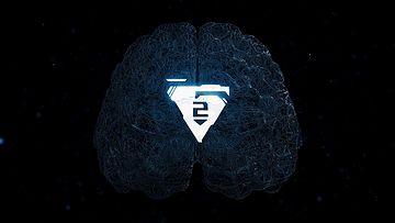 人工智能大脑LOGO模板