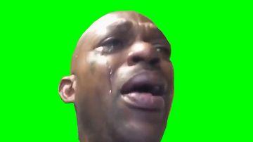抖音实用哭泣咳嗽的黑人
