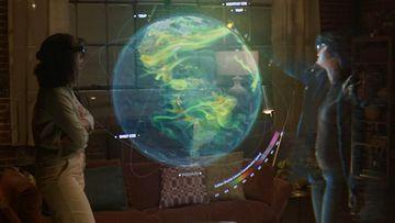 4K智能眼镜协同交互视频素材
