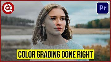 3个令人难以置信的色彩分级技巧PR教程