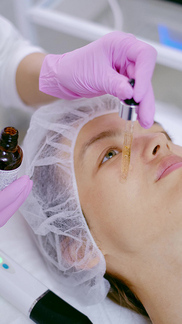 在美容院保养皮肤视频素材