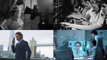 通信的历史变迁视频素材