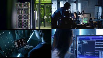 云数据存储中心云服务视频素材
