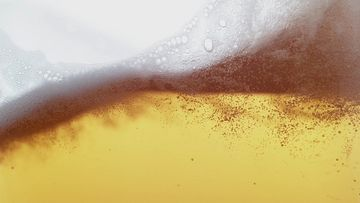 4K啤酒泡沫视频素材