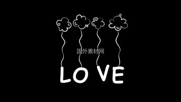LOVE视频素材