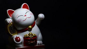 招财猫视频素材