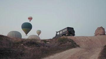 自驾游土耳其视频素材