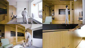 智能家居未来公寓视频素材